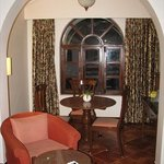 dining area in the room