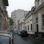 Street of hostel