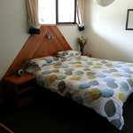 The cosy bedroom in Unit 1