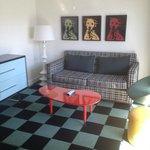 Room 427 sitting area