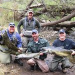 A great fishing weekend on Maxwell Creek in Sodus, NY