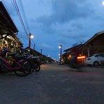 オールドタウンの夕景