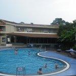 Pool minus students !