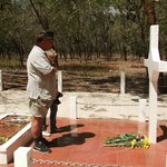 Respects paid. At The Long-Tan Cross. 46 years latter.