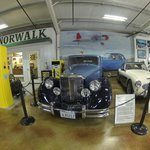 Don't miss the attached car museum