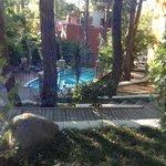 приватный бассейн на вилле