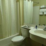 Banheiro muito limpo
