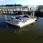 Jet Ski's waiting to be run! $95.00 an hour is too pricey