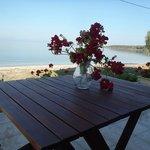 Veranda from beach house no 1