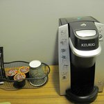 Coffee maker an added plus