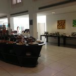 Zona desayuno buffet