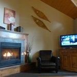 Living Room & Fire