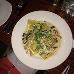 Excellent squash raviolli