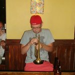 Trumpet surprise!