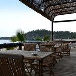 пляжное кафе (бар рядом)