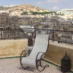 Views of the medina from the terrace