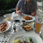 Шницель и клёцки - самые вкусные в Вене