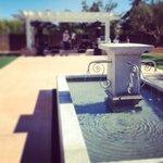 back patio fountain