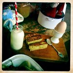 Boiled egg & toasted brioche soldiers