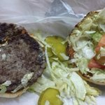 the pitiful inside of the burger