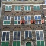 Magnífica fachada de la casa