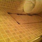 Passaggio segreto dentro il bagno