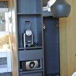 inbuilt coffee maker