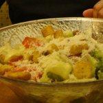 Salad & Garlic Dough Sticks