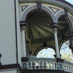one of the beautiful balconies
