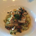 Petrale sole lunch plate - $17. It is worth it !