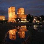 Cityhall by night