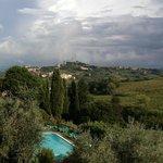 Udsigt mod San Gimignano