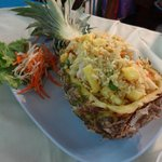 Pineapple fried rice - not bad