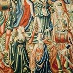 Uno de los tapices