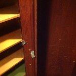 broken cupboard door