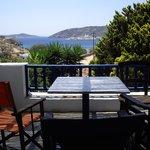 Θέα απο το μπαλκόνι