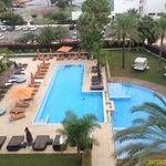 View of the Swimming Pool from the room 405