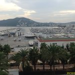 View of the nearby Port from room 405