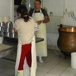 Atelier de fabrication artisanale du munster.