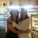 """Anna y Patricia en el """"Restaurante Anna"""""""