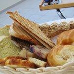 Yummy bread basket!