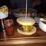 Amazing burger from Murtys Bar