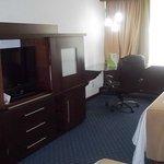 Big desk with High Speed Internet Access