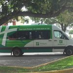Free Airport Transfers, with direct service from the Holiday Inn Quixote