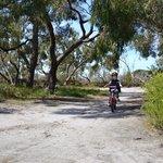 Bike riding tracks