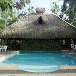 Restaurant mit Pool