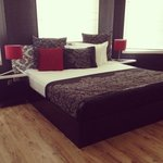 Newly refurbished boutique King suite