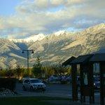 montagnes vus du centre