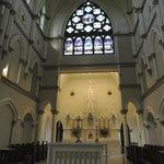 Window above Sacristy.