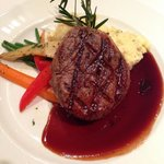 This was the best filet I have ever had.